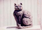 animal sclpture - cat